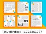 set of sale banner template... | Shutterstock .eps vector #1728361777