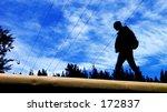 freedom   walking on the train   Shutterstock . vector #172837