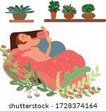 Illustration On Pregnant Woman...
