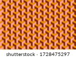 retro geometric background... | Shutterstock .eps vector #1728475297