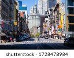 Chinatown  New York  Usa   May...