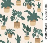 Seamless Pattern Of House...