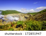 View Into The Main Crater Of...