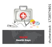 World Health Days Vector. This...