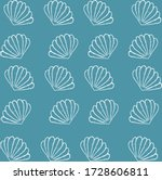 Abstract Sea Background With...