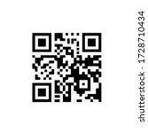 Black Scan Code Icon For Mobile....