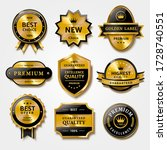 useful collection of badges and ... | Shutterstock . vector #1728740551