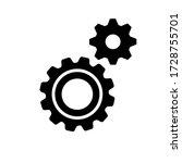 metal gears and cogs vector....   Shutterstock .eps vector #1728755701