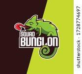 Chameleon Logo. Esport Logo....