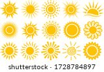 Sun Icons Vector Symbol Set