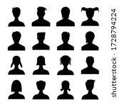 human avatar icons set... | Shutterstock .eps vector #1728794224