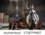 Law And Justice Symbols. Bokeh...