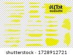 highlighter marker pen...   Shutterstock .eps vector #1728912721