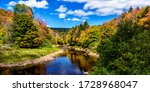 Small photo of Shavers Fork of Cheat River on the first day of Fall, Monongahela National Forest, West Virginia, USA
