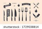 vintage graphic set. set of...   Shutterstock .eps vector #1729038814