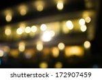 abstract circular bokeh... | Shutterstock . vector #172907459