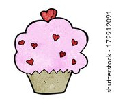 cartoon cupcake | Shutterstock .eps vector #172912091