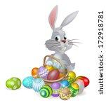 An Easter Bunny White Rabbit...