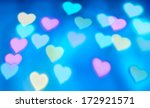 abstract heart background in... | Shutterstock . vector #172921571