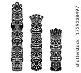 Hawaiian And Polynesia Tiki...