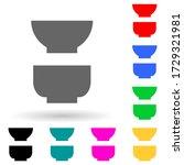 deep plates multi color style...