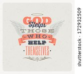 quote typographical background. ... | Shutterstock .eps vector #172932509