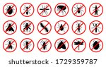 Anti Insect Black Silhouette...