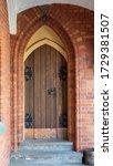 Ancient Gothic Church Portal...