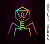 bacterial dna virus nolan icon...
