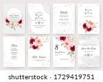 elegant abstract background... | Shutterstock .eps vector #1729419751