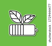 power of nature sticker icon....