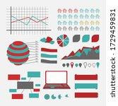 design infographic set. web... | Shutterstock . vector #1729459831