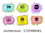 weekend sale. big buys  online...   Shutterstock .eps vector #1729488481