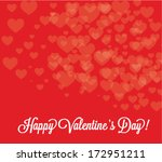 happy valentine'    s day... | Shutterstock .eps vector #172951211