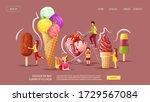 website design for ice cream...   Shutterstock .eps vector #1729567084