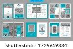 brochure creative design.... | Shutterstock .eps vector #1729659334