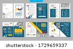 brochure creative design.... | Shutterstock .eps vector #1729659337