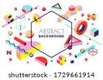 creative vector frame...   Shutterstock .eps vector #1729661914