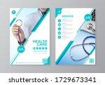 corporate healthcare cover ... | Shutterstock .eps vector #1729673341
