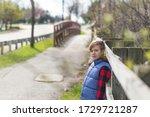 portrait of a young teen boy... | Shutterstock . vector #1729721287