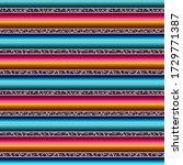 leopard serape seamless pattern ... | Shutterstock . vector #1729771387