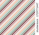 diagonal stripes seamless... | Shutterstock . vector #1729771447