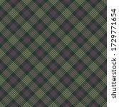 plaid seamless pattern  ... | Shutterstock . vector #1729771654