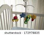 white crib | Shutterstock . vector #172978835