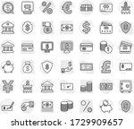 editable thin line isolated... | Shutterstock .eps vector #1729909657