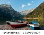 Vilsalpsee  austria  image of...