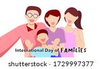 happy family with parents ... | Shutterstock .eps vector #1729997377