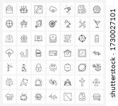 Isolated Symbols Set Of 49...