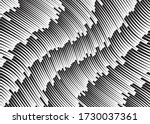 line art optical art.... | Shutterstock .eps vector #1730037361