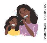 vector illustration of mother...   Shutterstock .eps vector #1730052127